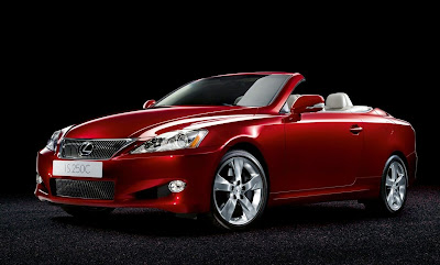 Lexus IS 250 2009 2010 Convertible Revealed in Paris