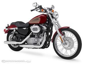 2009 Harley-Davidson Sportster 883 Custom - XL883C Specifications