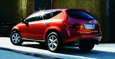 New Nissan Murano 2009 2010 Reviews and Specification