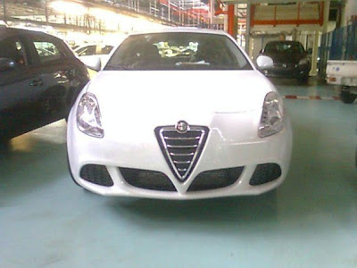 Alfa Romeo Milano 2010 spied uncovered in factory