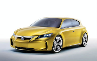 Lexus LF-Ch Hybrid Premium Compact Concept 2010 - hi res