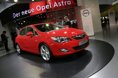 New 2010 Opel Asta Public Premiere in Frankfurt, Reviews and Specification