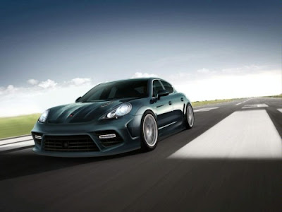 Mansory Panamera first illustrations 2010