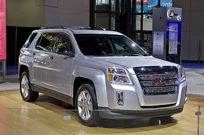 2010 GMC Terrain Reviews and Specification
