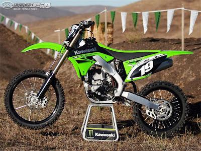 2010 Kawasaki KX250F : Reviews and Specification