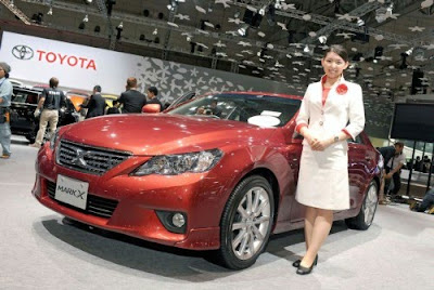 Toyota Launches Redesigned 2010 Mark X in Japan