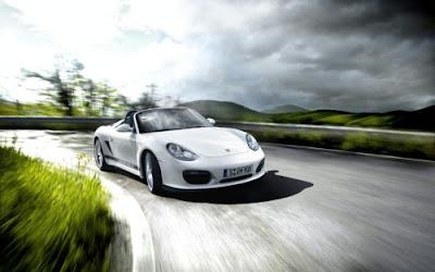 New Porsche Boxster Spyder Photos Released 2010