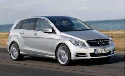 New Mercedes-Benz B-Class M.Y. 2012: here is another graphic reconstruction