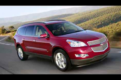 2010 2011 New Chevrolet Traverse; Reviews and Specs