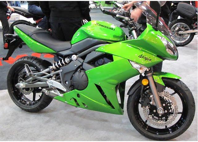 Moto 2011 2012: 2010 Kawasaki Ninja 650R Review