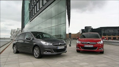 Citroen C4: New Official Images(Reviews and Specification)