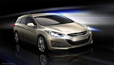 2011 Hyundai i40: European debut at the Geneva Motor Show