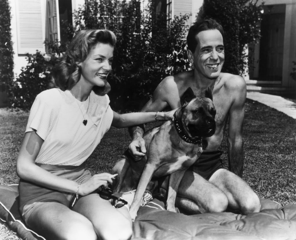 Philip mershon 39 s felix in hollywood actors and other animals for Lauren bacall married to humphrey bogart