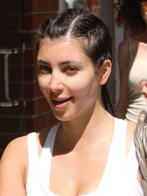 kim kardashian no makeup 2010. kim kardashian makeup
