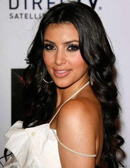 kim kardashian makeup and hair. kim kardashian makeup storage.