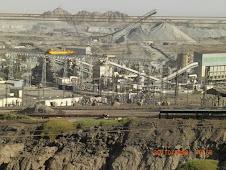 Namibia Uranium Mines site