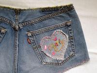 Valentine shorts