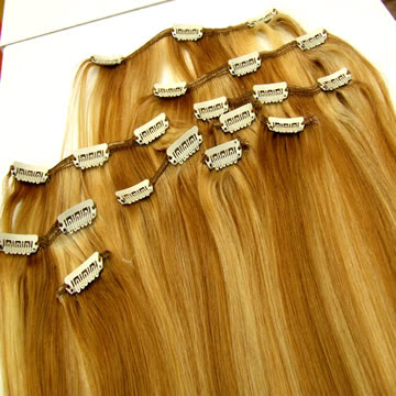 Hair Extension Clips Small 71