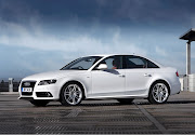 Audi A4 White Car Picture