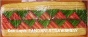 Kek Lapis PANDAN STRAWBERY