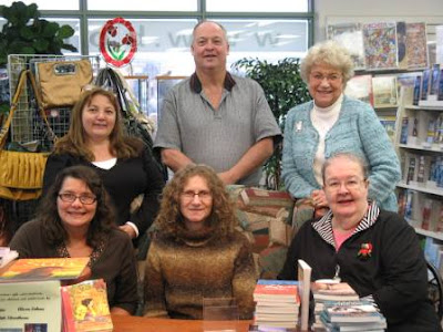Christmas Book Signing at Book-&-Brier Patch