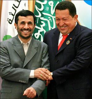 Chavez y Ahmadineyad proclaman el Nuevo Orden Mundial
