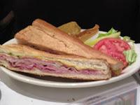 Click to enlarge - Cuban sandwich