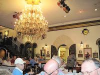 Click to enlarge - Dining room with chandelier.