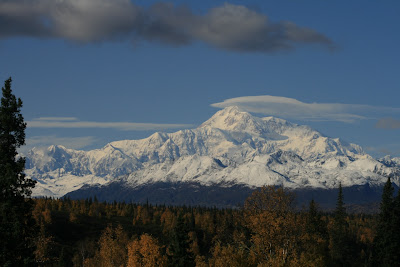 Denali is the highest mountain in North America and the backdrop for Denali National Park and Preserve