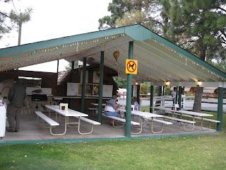 KOA Kafe open air patio