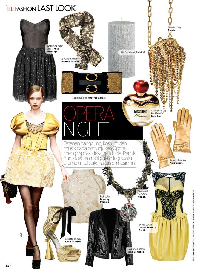 Vega Alfirina Portfolio Elle Indonesia Magazine Trends
