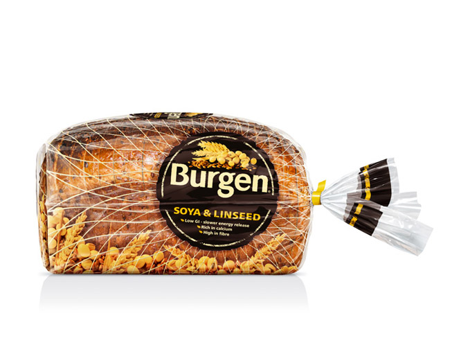 Burgen - 8 Creative Bread Packaging