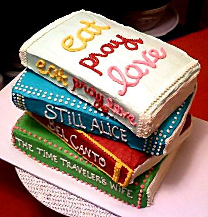 Cake Designs With Books : Macy Cakes: Book Club Cake