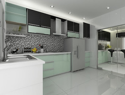 wet and dry kitchen design. wet kitchen  Doidoi KIP PARK DESIGN V DRY KITCHEN WET