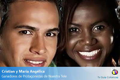 Cristian y Maria Angélica, nuevos protagonistas de Nuestra Tele
