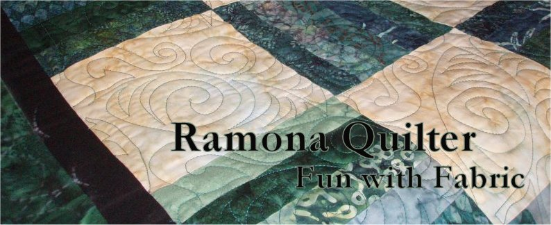 Ramona Quilter Fun with Fabric