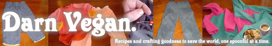 Darny's Vegan Recipes and Upcycling Crafts
