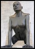 sphinx oedipe creation sculpture et architecture