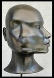 métamorphose déformation sculpture buste tête