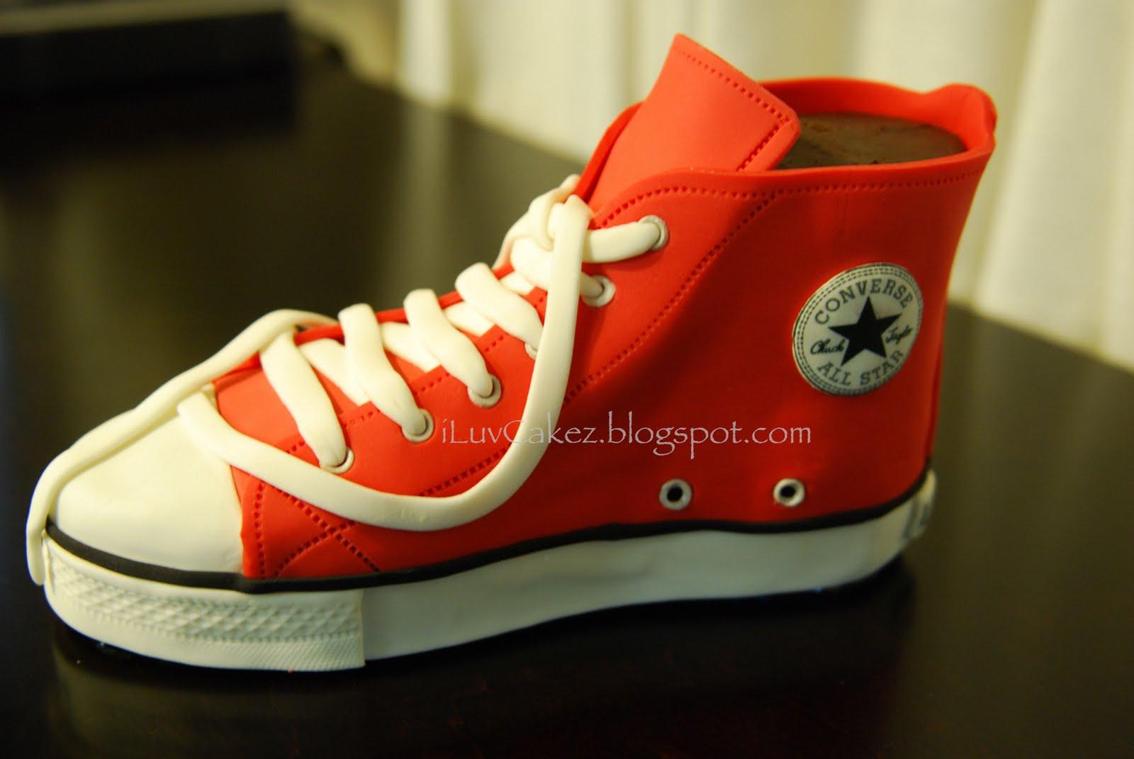 converse shoes cakes