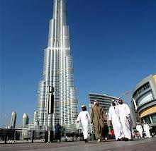 O prédio mais alto do mundo,828m.