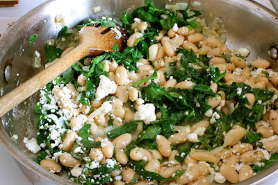 beans and pine nuts barley stew with caramelized onions white beans ...