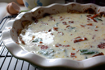 Potato-Crusted Quiche Recipe with Pancetta, Sun-Dried Tomatoes ...