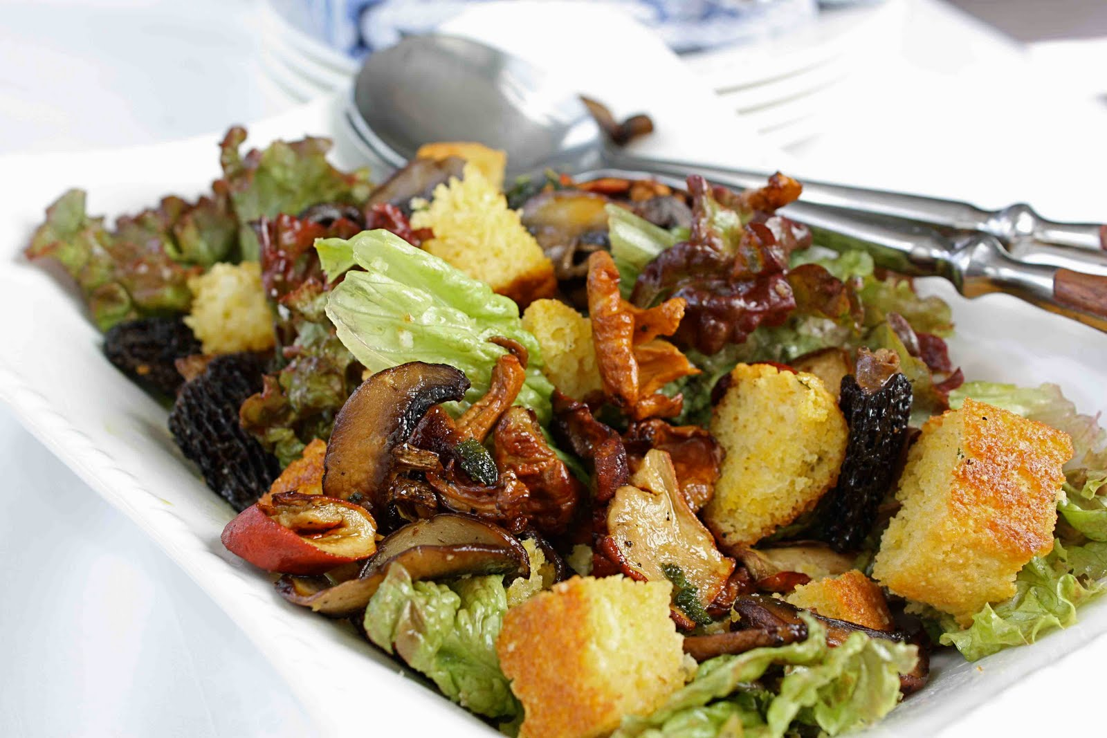 Wild Mushroom Salad Recips Recipe — Dishmaps