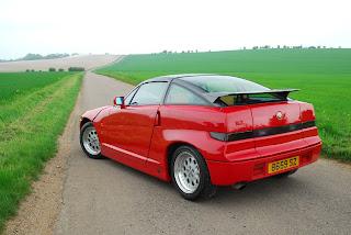 Alfa Romeo SZ Rojo Trasera