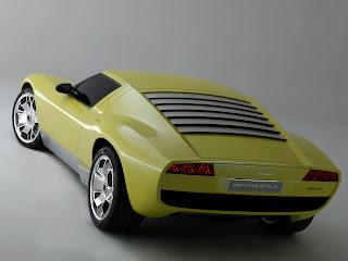 Lamborghini Miura Concept  Trasera