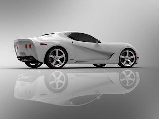 USD Mallet Corvette Z03 Trasera