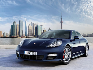 Panamera Turbo Frontal
