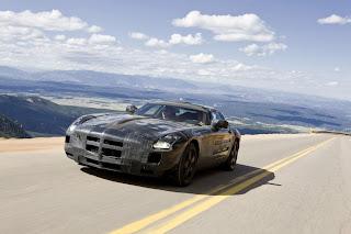 Mercedes SLS Nuevas fotos espía