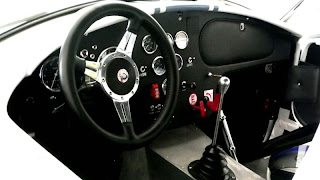 interior shelby cobra